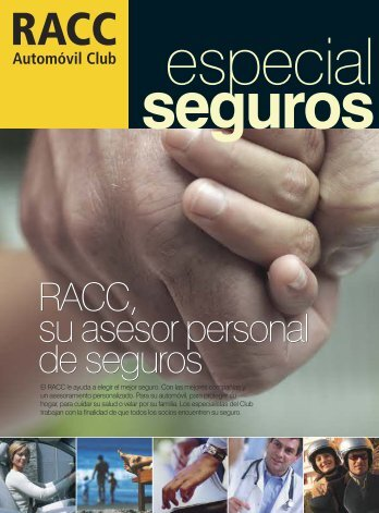 Especial seguros - Racc