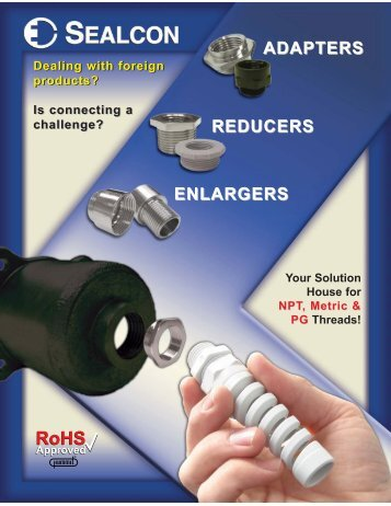 Download FULL Adapter, Reducer & Enlarger Flyer (v ... - Sealcon