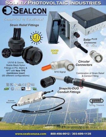 Solar/Photovoltaic Industries - Sealcon