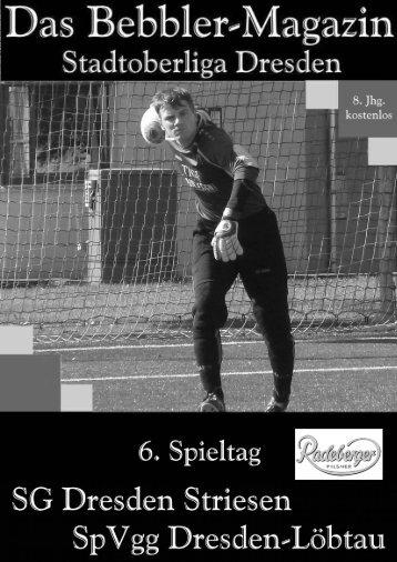 Das Bebbler-Magazin - 6. Spieltag 2014/2015