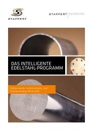 Das intelligente eDelstahl-Programm - STAPPERT Deutschland ...