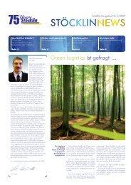 Green Logistics ist gefragt … - STOECKLIN
