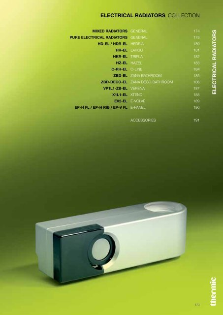 Thermic Elektrische Radiator.Download Pdf Thermic