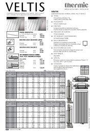 VELTIS V eLtiS V75 V eLtiS V100 VeLtiS V75 VeLtiS V100 - Thermic