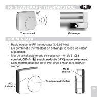 Gebrauchsanweisung Standard-Thermostat - Vasco