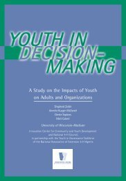 Youth In Decision-Making - The Innovation Center