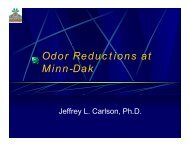 Odor Reductions at Minn-Dak - ASSBT Proceedings