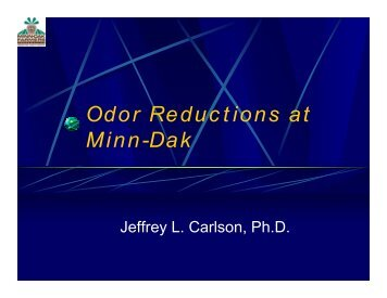 Odor Reductions at Minn-Dak - ASSBT Proceedings