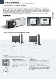 elektrische radiatoren - Thermic