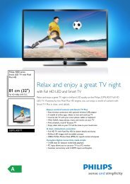 32PFL4037T/12 Philips Smart LED TV with Pixel Plus HD