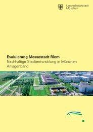 Evaluierung Messestadt Riem Nachhaltige Stadtentwicklung in ...