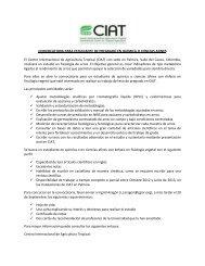 Más información y requisitos - AgroSalud