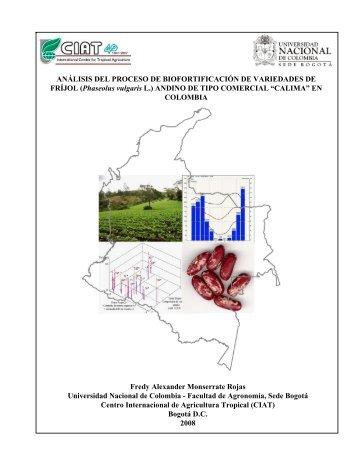 ANÁLISIS DEL PROCESO DE BIOFORTIFICACIÓN DE ... - AgroSalud