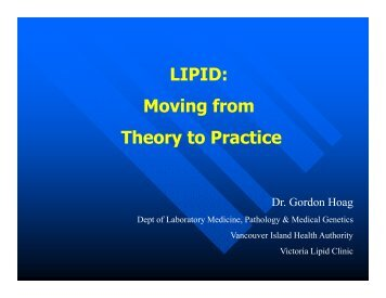 LIPID - the British Columbia Society of Laboratory Science