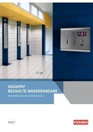 AQUAPAY(946.63 kB, PDF) - Franke