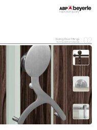 Sliding Door System - Ironmonger