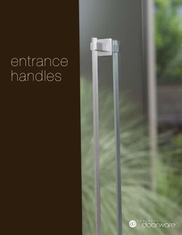 entrance handles - Ironmonger