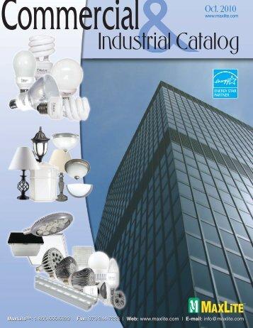 C&I Catalog - Oct 2010 - MaxLite
