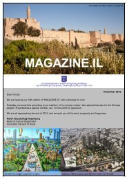 November 2012 Dear friends, We are opening our 18th edition of ...