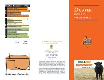 L-331 Duster Hard Red Winter Wheat - Oklahoma State University