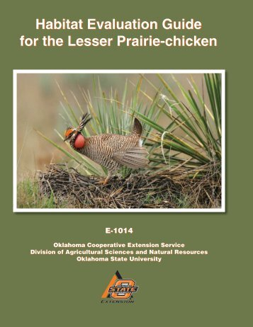 E-1014 Habitat Evaluation Guide for the Lesser Prairie-chicken