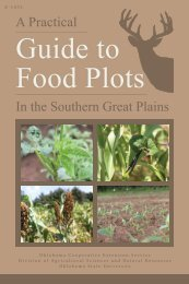 E-1032 A Practical Guide to Food Plots in the Southern Great Plains