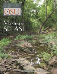 Ag at OSU Fall 2004 - OSU Fact Sheets - Oklahoma State University