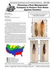 EPP-7308 Choosing a Termite Control Service - OSU Fact Sheets ...