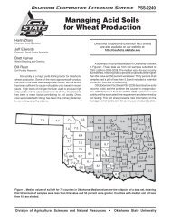 Managing Acid Soils for Wheat Production - OSU Fact Sheets ...