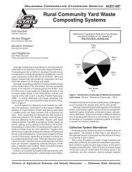 Rural Community Yard Waste Composting Systems - OSU Fact ...