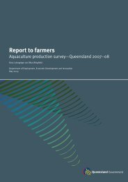 Report to farmers - Department of Primary Industries