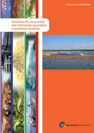 Guidelines for constructing and maintaining aquaculture ...