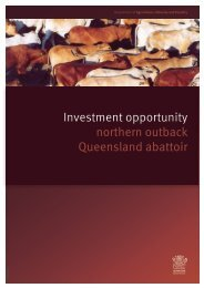Investment Opportunity - Department of Primary Industries ...