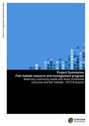 Project summaries - Department of Primary Industries - Queensland ...