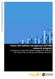 Urban fish habitat management - Department of Primary Industries ...