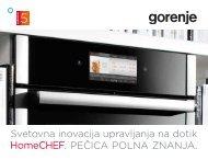 Pdf katalog HomeChef 2012 - Gorenje