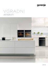 Pdf katalog: Vgradni aparati 2012 - Gorenje