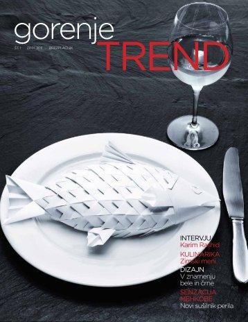 Gorenje Trend Zima 2011