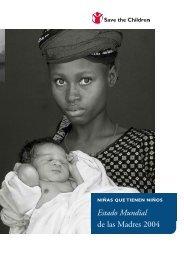Estado Mundial de las Madres 2004 - Save the Children