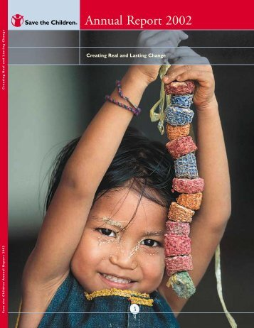 Annual Report 2002 - Save the Children