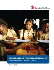 haiti - Save the Children