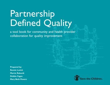 Partnership Defined Quality - Save the Children