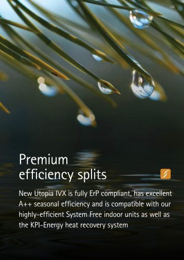 Premium efficiency splits - Tangra