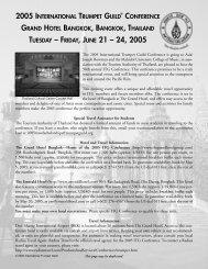 2005 - International Trumpet Guild