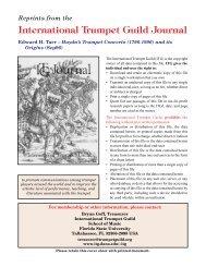 Haydn's Trumpet Concerto (1796-1996) and its Origins