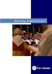 Worship Administrator - Truro Cathedral