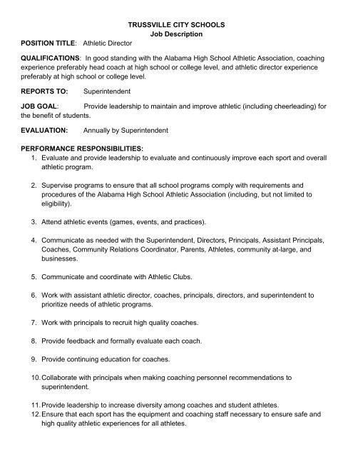 superintendent of education job description