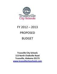 FY2013_Budget_Ex1_Presentation - Trussville City Schools