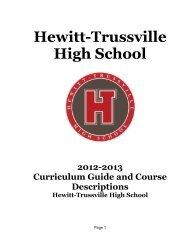 Curriculum Guide 2012-13 Final - Trussville City Schools