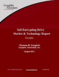 Market & Technology Report Self Encrypting Drive - Trusted ...